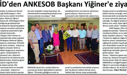 AHİD'den ANKESOB Başkanı Yiğiner'e Ziyaret – Polatlı Duatepe – 27 Temmuz 2017