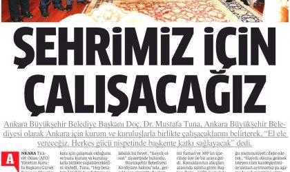 Şehrimiz İçin Çalışacağız – Star Ankara – 18 Kasım 2017