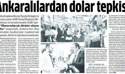 Ankaralılardan Dolar Tepkisi – Anadolu – 13 Ağustos 2018