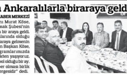 Köse Sahurda Ankaralılarla Bir Araya Geldi – Anadolu – 27 Mayıs 2019