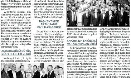 """Yiğiner: """"Lafla peynir gemisi yürümüyor"""" – Anadolu – 22 Temmuz 2019"""