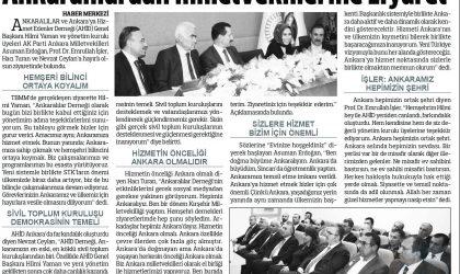 Ankaralılardan Milletvekillerine Ziyaret – Anadolu – 20 Ekim 2018