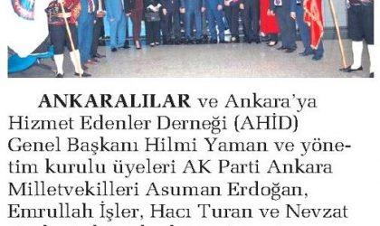 Ankara Milletvekillerini TBMM'de Ziyaret Ettiler – Sabah Ankara – 20 Ekim 2018