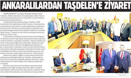 Ankaralılardan Taşdelen'e Ziyaret – Sonsöz – 4 Mayıs 2019