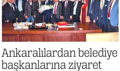 Ankaralılardan Belediye Başkanlarına Ziyaret – Türkiye – 27 Nisan 2019
